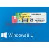 China Microsoft Windows 8.1 Pro Pack OEM Upgrade 32 Bit / 64 Bit With English Retail Box wholesale