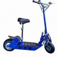 China EVO Brushless Hub Motor Electric Scooter with Polished Steel Forks on sale