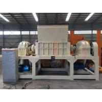 Buy cheap Double shaft Shredder machine made in China with good feedback high capacity and from wholesalers