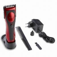 China Rechargeable Hair Clipper with Ceramic Blades, Available in Various Sizes wholesale