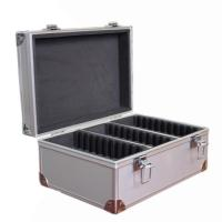 China Large Aluminum Storage Case Box For 30 Certified Slab Coins Fits NGC ANACS wholesale