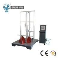 China Industrial Helmet Testing Machine , Rod Fatigue Testing Machine Button Control on sale