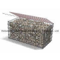China High Tensile Galvanized Steel Wire Welded Gabion Box Wear And Abrasion Resistance wholesale