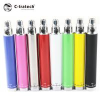 China Electronic Spinner Ego Twist Battery White 1300mAh With Variable Voltage on sale