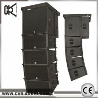 China used church sound system dual 10 inch line array speaker guangzhou audio factory wholesale