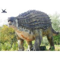 Animatronic Outdoor Dinosaur Statues , Dinosaur Yard Decorations With Infrared Ray Sensor