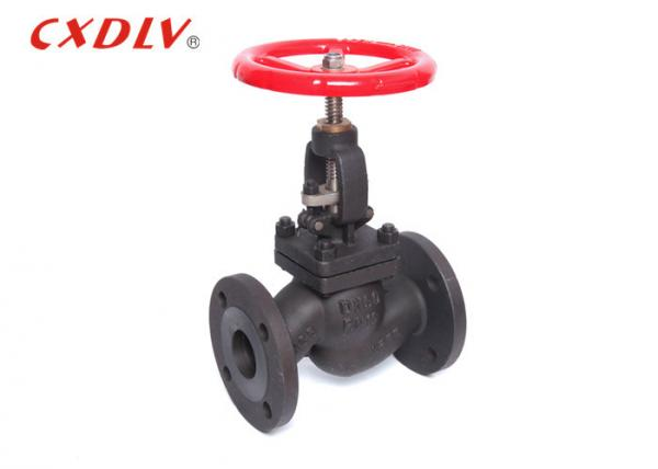 Quality Manual Carbon Steel Globe Valve Flanged Type Steam WCB For Gas , Oil for sale