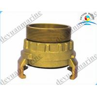 China Brass French Type Fire Fighting Equipment Fire Hose Coupling With Storz Female wholesale