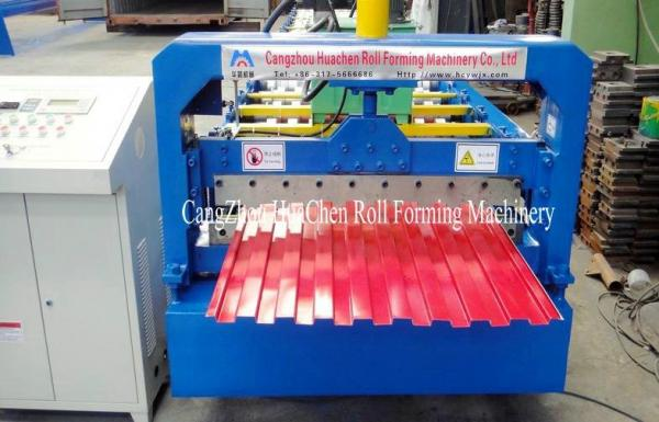 Quality 18 Groups Forming Roller Shutter Door Roll Forming Machine For Window / Door Frame for sale