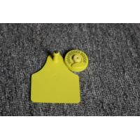China Electronic RFID Livestock Ear Tags Plastic 30MM on sale