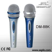 China Plastic Karaoke microphone / professional wire microphone DM-88K on sale