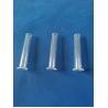 China custom Quartz glass thermostability quartz glass bell jar with turnup wholesale