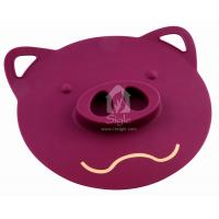 China Silicone Pig Head Pot Lid wholesale