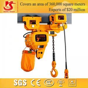 China Electric lifting 5M-2 ton chain hoist on sale