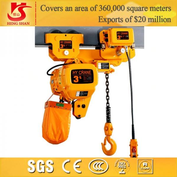 Quality Electric lifting 5M-2 ton chain hoist for sale