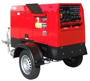 China Mobile Trailer 600Amp Engine Driven Welding Machine Genset Diesel Generator Tig Arc Welder on sale