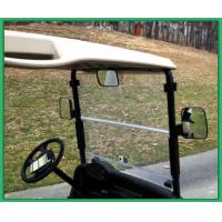 Left And Right Golf Cart Rear View Mirror 180 Degree Views Black Color