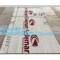 China top covers clear plastic window covers printed pallet covers, Jumbo PE Plastic Type Reusable Pallet Cover, Gusseted Side wholesale