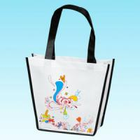 China Die Cut Bag / Puch Bag / Non Woven Handle Bag wholesale