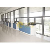 China 2480 * 1830mm epoxy resin worktop matte surface durability , lab benches wholesale