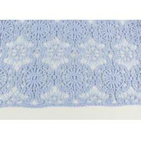 China Guipure Dying Lace Fabric With Floral Water Soluble Lace Design For Dress Factory wholesale