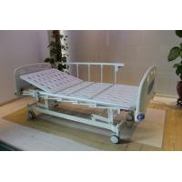 Height Adjustable Central Locking Three Motors Medical Hospital Bed with Bumpers for sale