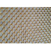 China Woven Wire Mesh Application and Stainless Steel Wire Material metal chain curtains wholesale