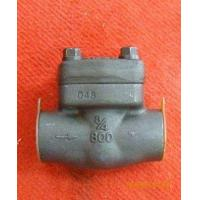 "China 347 Stainless Steel 2"" Swing Check Valve 2500# Ends API 6D / ANSI 16.5 B on sale"
