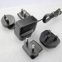 China us to uk extrangeable plug 5v1a power adapter with fcc and bs approved wholesale