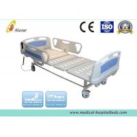 China Foldable Steel Hospital Electric Beds ABS Electric Nursing Bed With Two Function (ALS-E202) wholesale