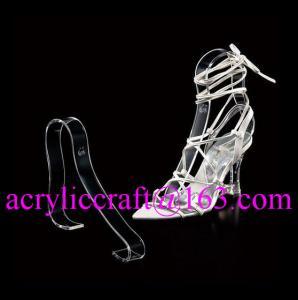 China Factory wholesale acrylic shoe rack / plexiglass shoe display holder on sale