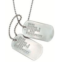 Custom Personalized Dog Tag Necklaces