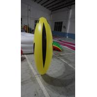 Buy cheap 1.2m long Fruit Shaped Balloons , Digital Printing Inflatable Banana from wholesalers