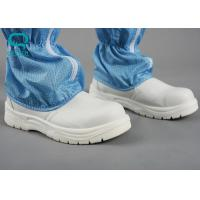 China Steel Cap Clean Room Boots , ESD Steel Toe BootsCustomized Color on sale