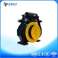 China WTD1 375KG PM motor gearless traction machine no noise with elevator key switch wholesale