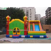 China Commercial Inflatable Jumping Castles Slide For Family Park Use wholesale