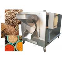 China Drum Sesame Seed Nuts Roasting Machine Dry Cereal Grain Roaster 3000*1200*1700 Mm wholesale