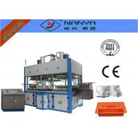China Moulding Pulp Thermal Forming Machine For Paper Plate / Egg Tray wholesale