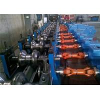 China High Speed Highway Guardrail Roll Forming Machine , 65 KW Cold Forming Machine 10.5T wholesale
