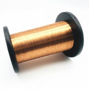 China 0.3 Mm Polyurethane 155 Self Bonding Magnet Solderable Enamelled Copper Wire wholesale