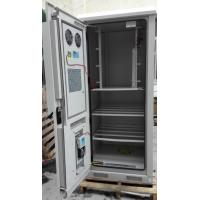 China DDTE069 IP55 Outdoor Telecom Cabinet For Base Station With Air Conditioner,Heat Exchanger wholesale