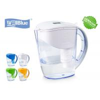 China Plastic 3.5L Alkaline Water Filter Pitcher Eco Friendly For Rise PH 8-10 Level on sale