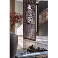 Buy From Foshan Factory Mirror Gold Stainless Steel Partition Screen With Laser Cutting