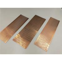 China Durable Copper Stamped Lead Frame High Precision Progressive Die Processing on sale