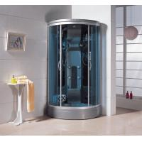 China 1450*900*2150mm Silver aluminum infrared sauna cabin residential steam showers room wholesale