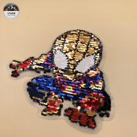 China Eco Friendly Material Embroidery Designs Patches With Flip / Flat / Printing wholesale