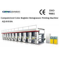 China Computer Control Rotogravure / Gravure Printing Machinery With 8 Color Printing wholesale