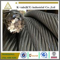 China 19x7 non-rotation stainless steel wire rope high carbon steel wire rope made in china factory on sale