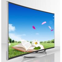 """China Ultra Thin Curved LED TV 55"""" , DLED 4K 3D Curved TV Wide Viewing Angle wholesale"""