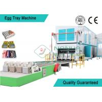 China Professional Rotary Egg Tray Machine Multi - Layer Dryer Egg Tray Production Line wholesale